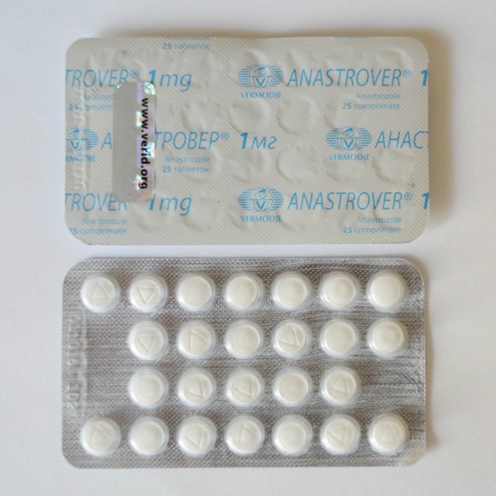 Anastrover 1мг\таб - цена за 5 таб.